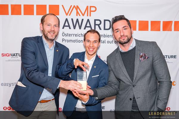easystaff und Huawei gewinnen den VAMP Award