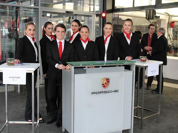 Hospitality Service für Porsche