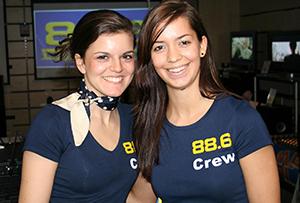 2 Mitarbeiterinnen für Radio 88,6