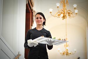 Mitarbeiterin bei Gastro Event