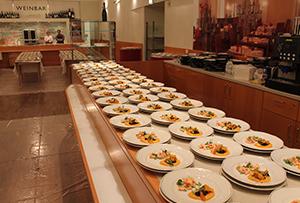 Küche bei Gastro Event